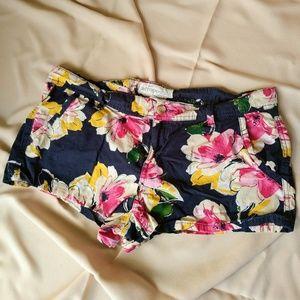 Flirty floral shorts